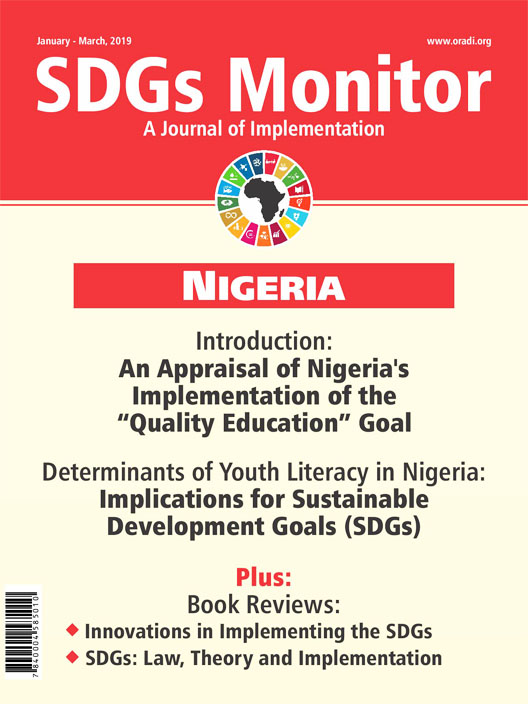 SDGs Monitor Journal (Jan - Mar, 2019)